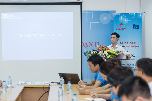 Ong Nguyen Xuan Hach tong ket danh gia du an